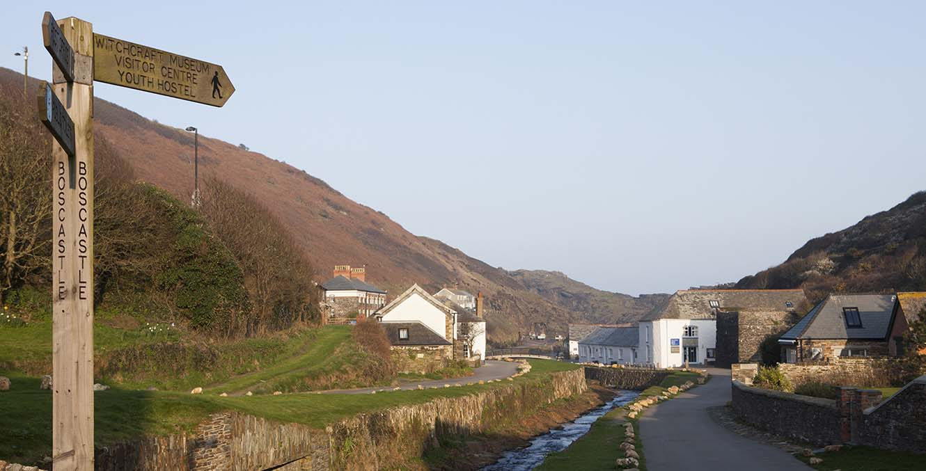 The Wellington Hotel, Boscastle, Cornwall. Hotel shoot.